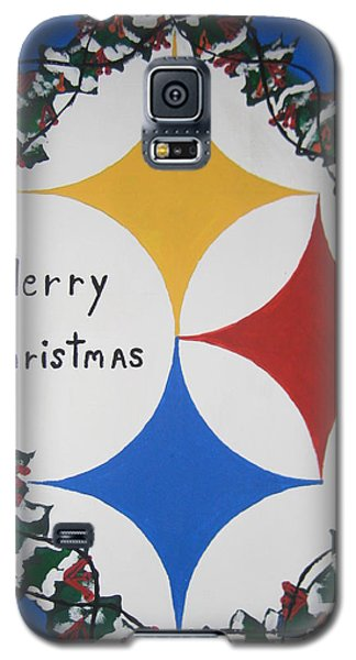 Steelers Christmas Card Galaxy S5 Case
