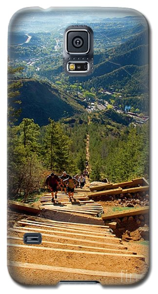 Steep Manitou Incline And Barr Trail Galaxy S5 Case