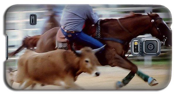 Steer Wrestling Dilemma Galaxy S5 Case