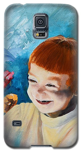 Stefi- My Trip To Holland - Red Headed Angel Galaxy S5 Case