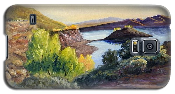 Galaxy S5 Case featuring the painting Steinaker by Sherril Porter