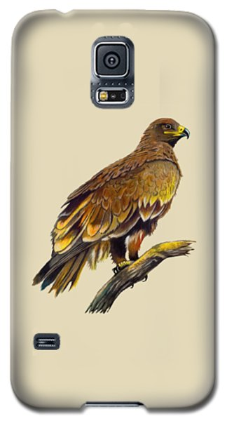 Galaxy S5 Case featuring the painting Steppe Eagle by Anthony Mwangi