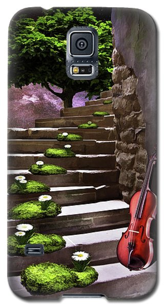 Steps Of Happiness Galaxy S5 Case by Mihaela Pater