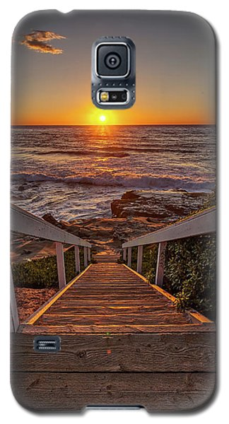 Steps To The Sun  Galaxy S5 Case