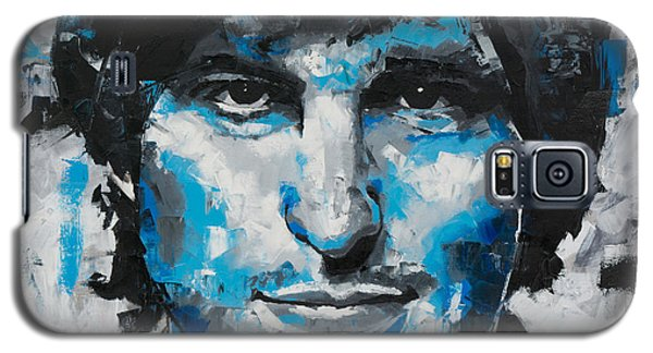 Galaxy S5 Case featuring the painting Steve Jobs II by Richard Day