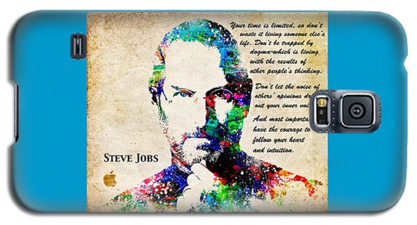 Steve Jobs Portrait Galaxy S5 Case