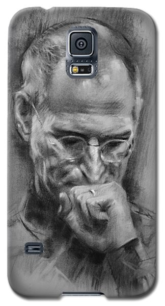 Apple Galaxy S5 Case - Steve Jobs by Ylli Haruni