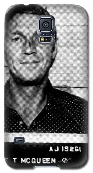Steve Mcqueen Mug Shot Vertical Galaxy S5 Case