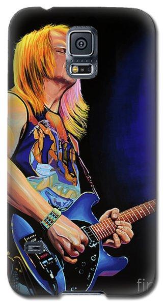 Steve Morse Painting Galaxy S5 Case by Paul Meijering
