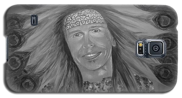 Galaxy S5 Case featuring the painting Steven Tyler Art by Jeepee Aero