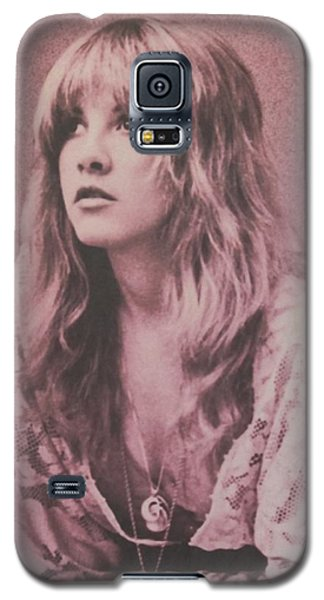 Music Galaxy S5 Case - Stevie Nicks  by Donna Wilson