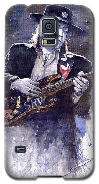 Portret Galaxy S5 Case - Stevie Ray Vaughan 1 by Yuriy Shevchuk