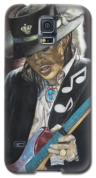 Stevie Ray Vaughan  Galaxy S5 Case by Lance Gebhardt