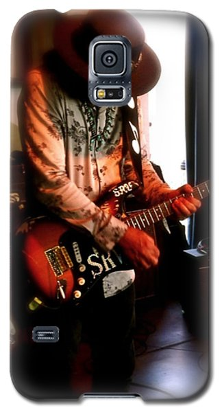 Stevie Ray Vaughan Reflections   Galaxy S5 Case by Iconic Images Art Gallery David Pucciarelli