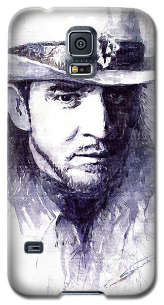 Portret Galaxy S5 Case - Stevie Ray Vaughan by Yuriy Shevchuk