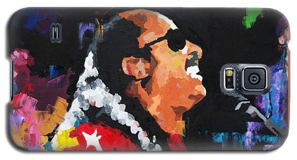 Stevie Wonder Live Galaxy S5 Case by Richard Day