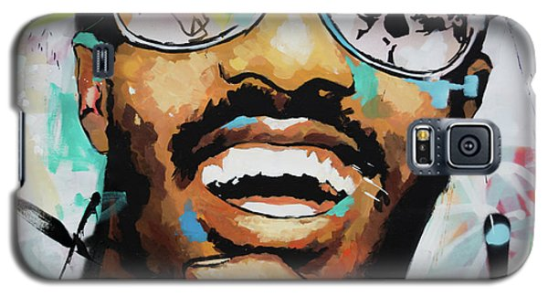 Stevie Wonder Portrait Galaxy S5 Case by Richard Day