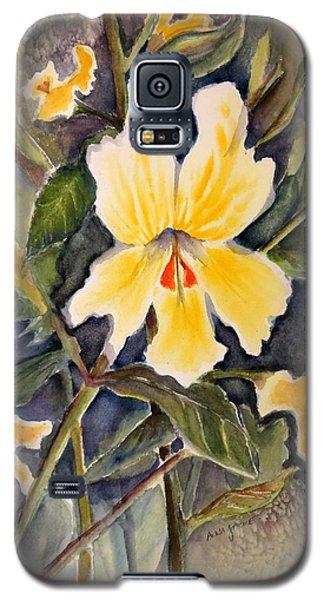 Sticky Monkey Flower Galaxy S5 Case