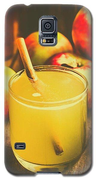 Still Life Apple Cider Beverage Galaxy S5 Case by Jorgo Photography - Wall Art Gallery