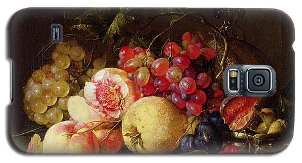 Still Life Galaxy S5 Case by Cornelis de Heem
