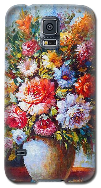 Still Life Flowers Galaxy S5 Case