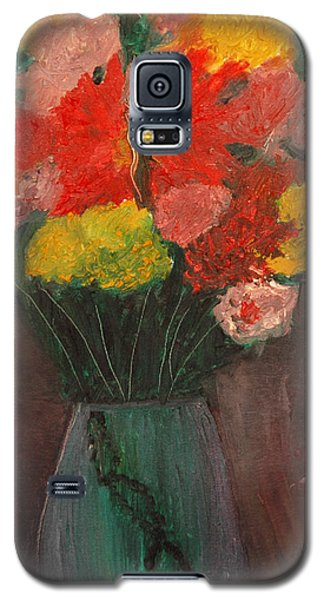 Flowers Still Life Galaxy S5 Case by Jose Rojas