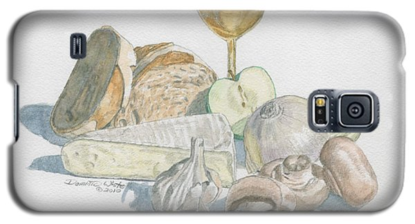 Still Life Of White Food Galaxy S5 Case