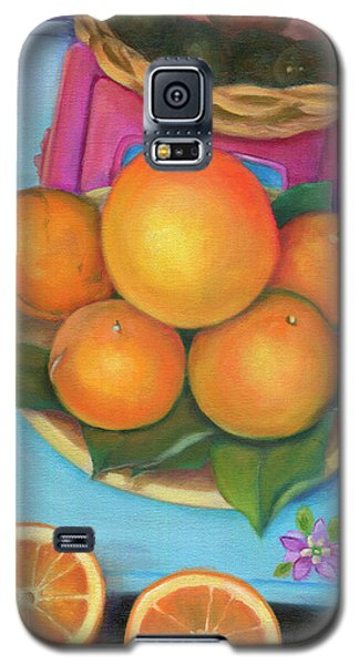 Still Life Oranges And Grapefruit Galaxy S5 Case