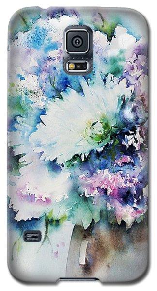 Still Life Rose Bouquet Watercolour Galaxy S5 Case