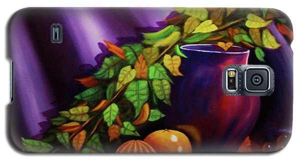 Still Life W/purple Vase Galaxy S5 Case