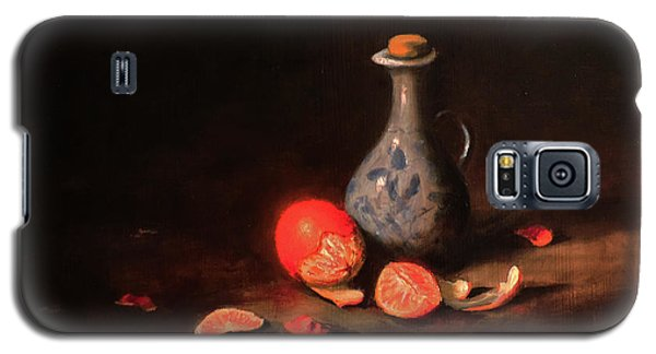 Galaxy S5 Case featuring the painting Still Life With A Little Dutch Jug by Barry Williamson