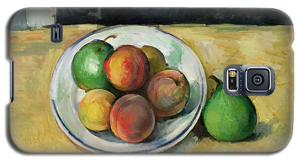 Still Life With A Peach And Two Green Pears Galaxy S5 Case