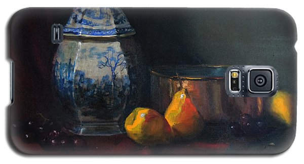 Still Life With Antique Dutch Vase Galaxy S5 Case