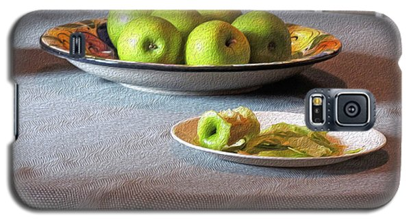 Still Life With Apples And Chair Galaxy S5 Case