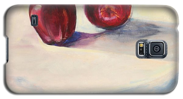 Still Life With Apples Galaxy S5 Case by Daun Soden-Greene