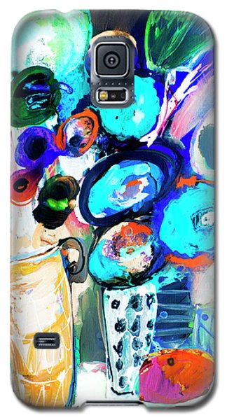 Still Life With Blue Flowers Galaxy S5 Case