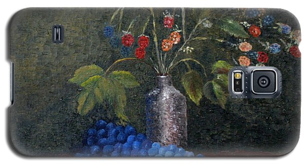 Still Life With Blue Fruit Galaxy S5 Case