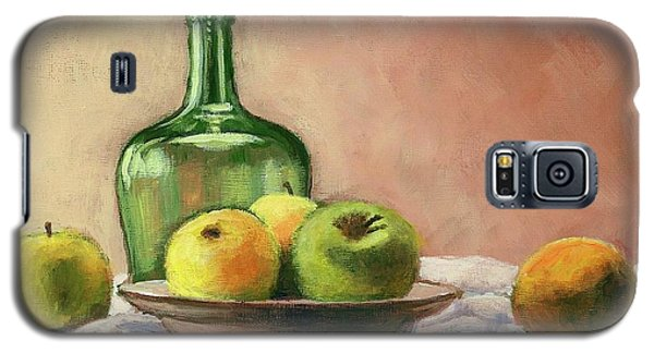 Still Life With Bottle Galaxy S5 Case by Janet King