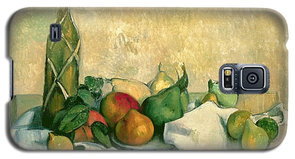 Still Life With Bottle Of Liqueur Galaxy S5 Case by Paul Cezanne
