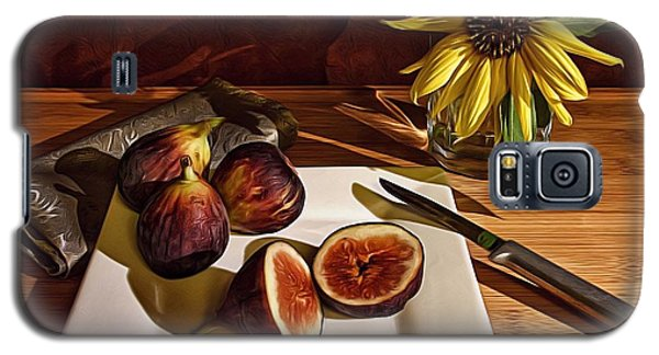 Still Life With Flower And Figs Galaxy S5 Case