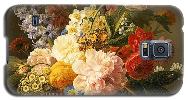 Still Life With Flowers And Fruit Galaxy S5 Case