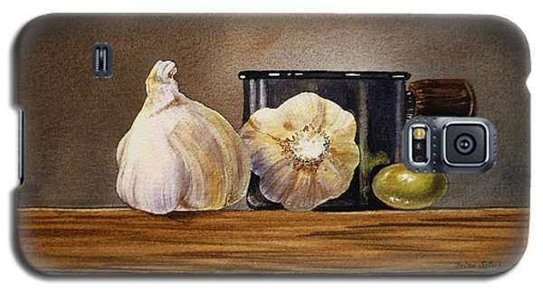 Still Life With Garlic And Olive Galaxy S5 Case