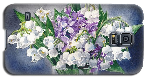 Still Life With Lilacs And Lilies Of The Valley Galaxy S5 Case