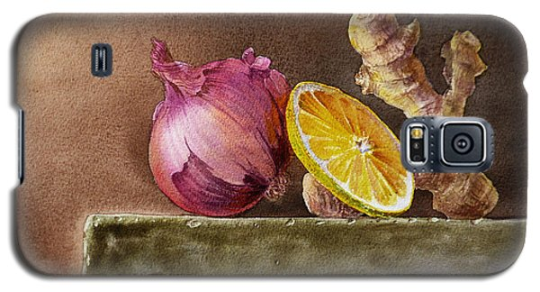 Still Life With Onion Lemon And Ginger Galaxy S5 Case