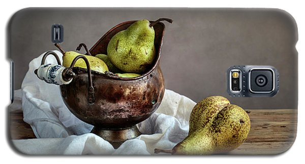 Pear Galaxy S5 Case - Still-life With Pears by Nailia Schwarz