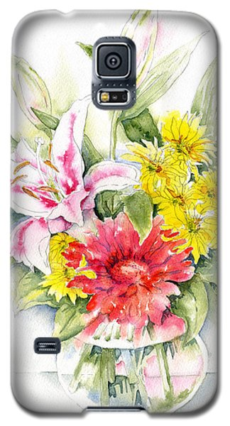 Still Life With Red Zinnia Galaxy S5 Case