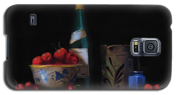 Galaxy S5 Case featuring the painting Still Life With The Alsace Jug by Barry Williamson