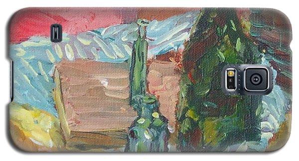 Still Life With Three Bottles Galaxy S5 Case