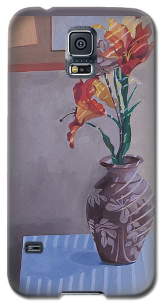 Still Life With Tiger Lilies Galaxy S5 Case