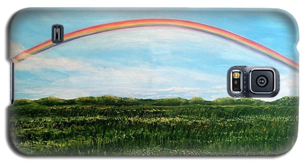 Still Searching For Somewhere Over The Rainbow? Galaxy S5 Case by Kimberlee Baxter